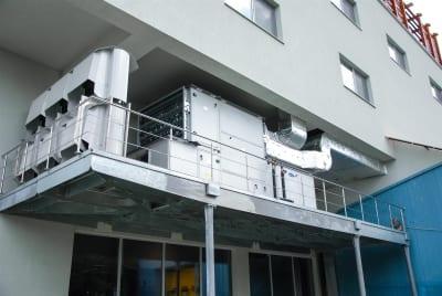 CTA cu recuperare - Instalatii civile si industriale