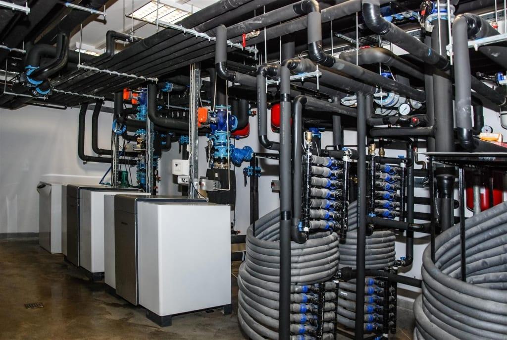Pompe de caldura - Instalatii civile si industriale